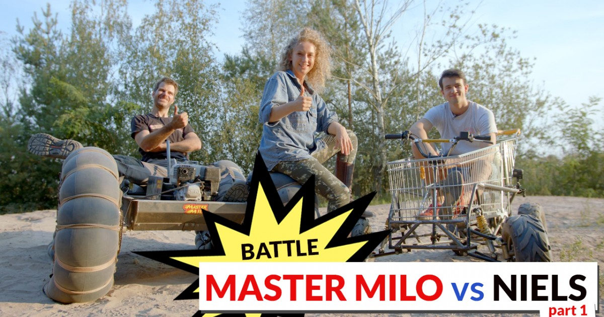 Battle Mastermilo vs Niels